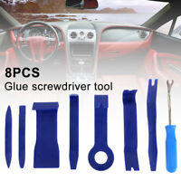 8Pcs Car Trim Removal Tool Door Plastic Panel Molding Set Kit Pliers Tools Pry