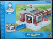 TOMY #7545 Thomas & Friends accessory: SODOR ENGINE WASH Building; free Aust.P&H