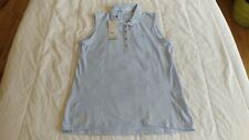 1 NWT ADIDAS WOMEN'S GOLF TOP, SIZE: SMALL, COLOR: EASBLU  ***B201