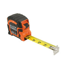 Klein Tools 86225 25 Foot Magnetic Double Hook Tape Measure