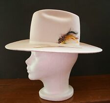 1988 Calgary Olympics Cowboy Hat WORN BY CANADIAN ATHLETES 6 3/4 Smithbuilt Hats