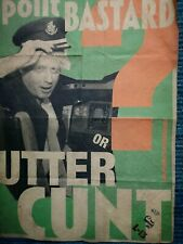"Billy Childish- Boris Johnson ""I want my own plane & I want it now!"" 5/31"
