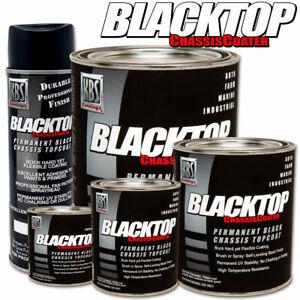 KBS BlackTop Chasis Paint Single Component Top Coat - Gloss Black - Quart