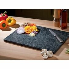 Large Black Kitchen Granite Speckled Stone Chopping Cutting Board Worktop Saver.