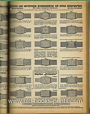 UHRENKATALOG 1931/32 - reich illustriertes Original!!