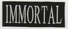 IMMORTAL     PATCH   ECUSSON  Patch thermocollant