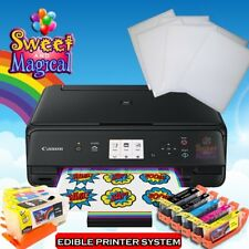 Canon TS5020/6020 Bk - Edible Printer Bundle - Ink,cleaners & Frosting Sheets 6