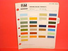 1974 FORD PICKUP TRUCK F-100 250 350 BRONCO ECONOLINE VAN COURIER PAINT CHIPS 74