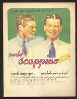 Pubblicità originale 1942 Nodo Scappino, cravatta  ,  R