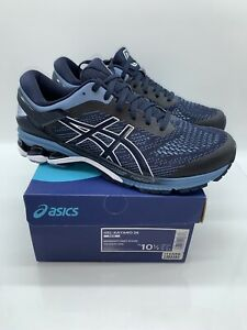 ASICS Men's Gel-Kayano 26 Sneakers Midnight / Grey Floss US 10.5 / EUR 44.5