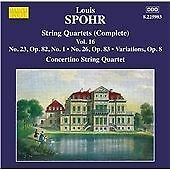 Louis Spohr - : Complete String Quartets, Vol. 16 (2014)