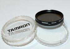 * Tamron : Filtro Polarizzatore P.L diametro 52 MM * con custodia