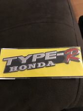 NEW 3D Premium Honda Type R Racing Emblem Badge Sticker JDM