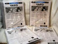 Leuchtturm VARIO C  Hüllen Glasklar  5er Packung zur Auswahl