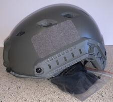 New listing Lancer Tactical CA-725B FAST Airsoft Helmet PJ Type w/ Side Rails + NVG Mount