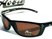 NEW* HOBIE VENICE BLACK Sport POLARIZED Copper Lens Sunglass