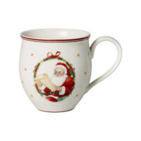 Villeroy & Boch Toy's Delight Becher mit Henkel - Mr & Mrs Santa Claus 0,44 L