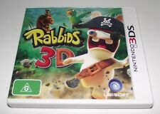 Rabbids 3D Nintendo 3DS 2DS Game *Complete*