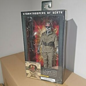 """NECA S.O.D. STORMTROOPERS OF DEATH SGT. D 8"""" CLOTHED ACTION FIGURE RETRO DOLL"""