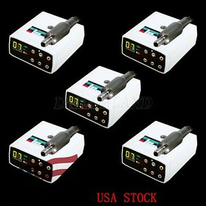 5X Dental NSK Style Brushless LED Electric Micro Motor Fit 1:5 Handpiece NEW