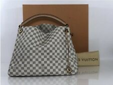 Louis Vuitton Damier Azur Artsy MM Hobo Shoulder Handbag
