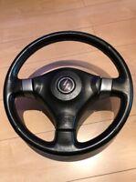 JDM NISSAN OEM S15 SILVIA steering wheel Genuine 200SX 240SX SR20 from Japan EMS