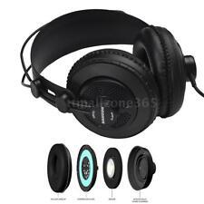 SAMSON SR850 Dynamic Monitor Headphones + Outstanding Clean Tone  Semi-Open X0O2