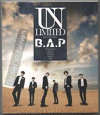 B.A.P Unlimited - Japan 2nd Album (2017) CD & DVD SEALED  BAP