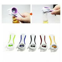 Home Kitchen Multifunction 5 in 1 Bottles Jars Cans Manual Opener Tool Gadget