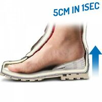 Einlegesohlen 5 cm in 1Sec größer Silikon Einlagen Schuhe Sportschuhe