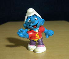 Smurfs Disco Dancing Smurf Dancer Rare Vintage Figure PVC Toy Figurine Lot 20444