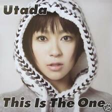 "UTADA HIKARU ""THIS IS THE ONE"" JAPAN PROMO POSTER -J-pop Music Superstar."
