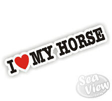 I Heart Love Mi Caballo Pony Sticker Decal