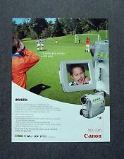 [GCG] K181- Advertising Pubblicità -2003- CANON MV650i