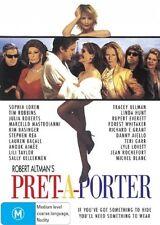 PRET-A-PORTER DVD=A ROBERT ALTMAN'S FILM=REGION 4 AUSTRALIAN RELEASE=LIKE NEW