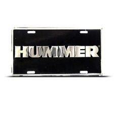 HUMMER H2 H3 NOVELTY Metal Auto License Plate Tag Wall Sign