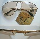 "B&L Ray-Ban U.S.A. ""W1082"" occhiali da sole vintage aviator sunglasses NOS 1980s"