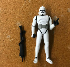 Very RARE ROTS version Clone Trooper Cartoon Network Animated loose Star Wars