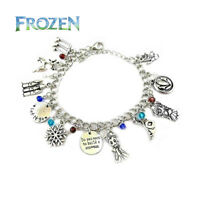 Disney's Frozen (11 Themed Charms) Assorted Metal Charm Bracelet