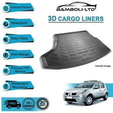 3D CARGO LINER BOOT LINER REAR TRUNK MAT FOR DACIA SANDERO 2008-UP
