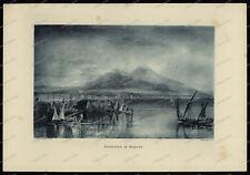 Druck-Stahlstich-Engraving-J.M.W.Turner.R.A.Allen&Co.Sc.Vesuvius in Repose-60