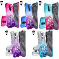 For LG Aristo 4+ Plus/Arena 2/Prime 2 Diamond Bling Case Glitter Phone Cover