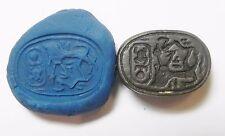 ZURQIEH - AF2296- ANCIENT EGYPT. NEW KINGDOM. STONE SCARAB. 1400 B.C