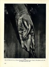 Una delle mani dei Sem-Ju-K 'annon Tempio Nara in Giappone Histor. immagine documento 1935