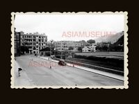 1940s Bowrington Canal Ngo Keng Kan 鵝頸澗 Road Car Vintage Hong Kong Photo #1727