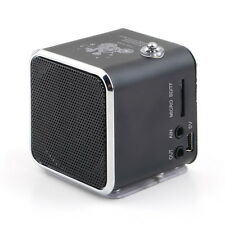 1PC Digital Mini Speaker Music Angel Support USB Micro SD TF Card FM MP3 for PC
