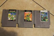 Teenage Mutant Ninja Turtles Nes Lot Nintendo Entertainment System