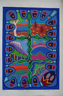 Sally Morgan, Aboriginal Land, signed, dated 1990, titled & numbered 89/95