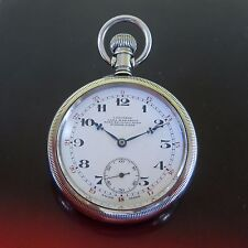 Antique LONGINES POCKET WATCH Swiss Made ca 1920s-OPEN FACE 50 MM matching #¨s