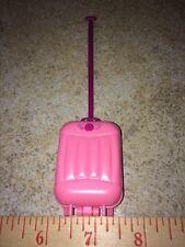 Barbie Ponytail Logo Pink Carry On Purple Handle Suit Case Luugage Bag